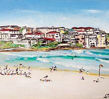 Bondi Beach at its best  by gillsart
