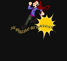 Charlie Bradbury - I'm walking on sunshine Womens Fitted T-Shirt