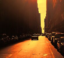 A New Dawn a New Day New York by John Lines
