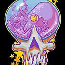 Skull Gumball Octopus by cs3ink