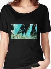 Cat Among the Pigeons Women's Relaxed Fit T-Shirt