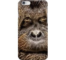 Wild nature - chimp iPhone Case/Skin