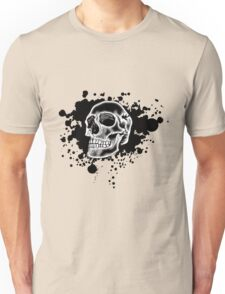 White Skull Glow Unisex T-Shirt