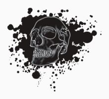Black Skull Glow by MrBliss4