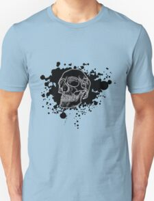Black Skull Glow T-Shirt