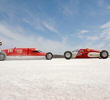 Salt Lake Racers on Lake Gairdner by Frank Kletschkus