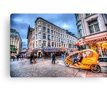 Aerodynamic Rickshaw Canvas Print