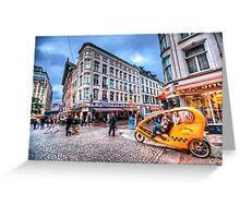 Aerodynamic Rickshaw Greeting Card