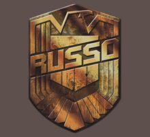 Custom Dredd Badge - (Russo)  Kids Clothes