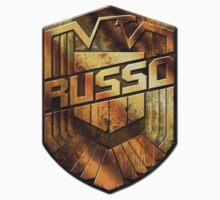 Custom Dredd Badge - (Russo)  by CallsignShirts