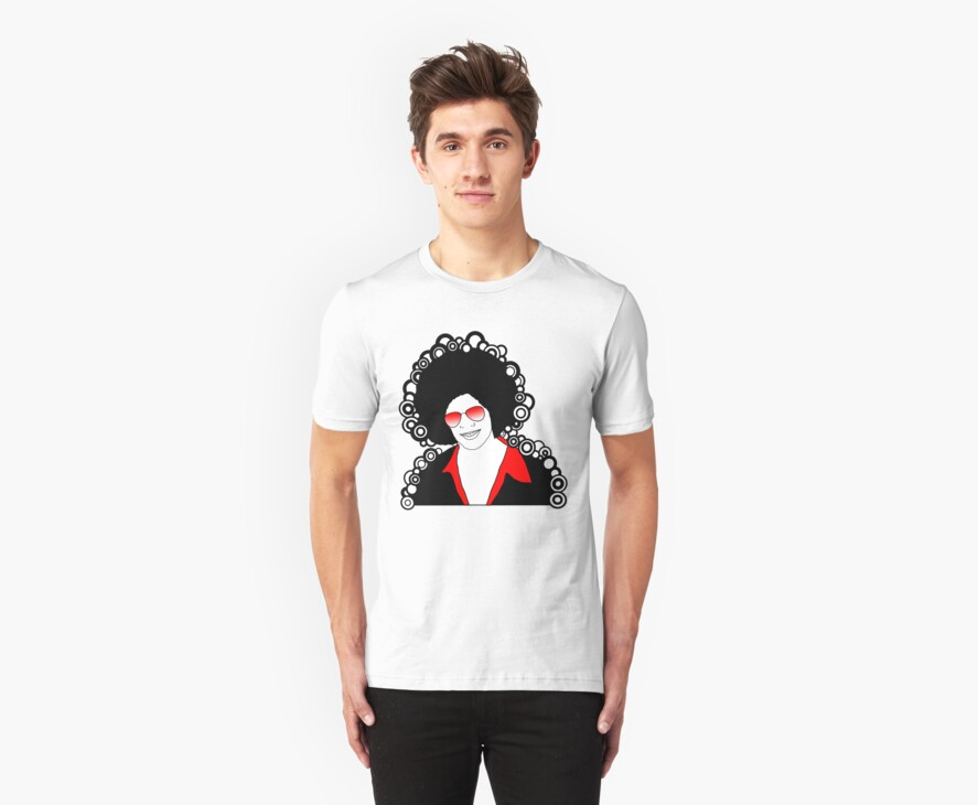 afro man red by red-rawlo