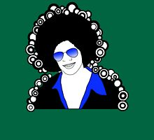 afro man blue Unisex T-Shirt