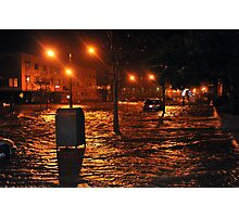 Hurricane Sandy in Brooklyn NY - 9pm, October 29, 2012 Photographic Print