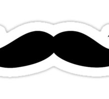 Moustache Sticker