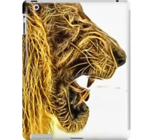Wild nature - lion iPad Case/Skin