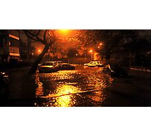 Hurricane Sandy in Brooklyn NY - 11pm, October 29, 2012 Photographic Print
