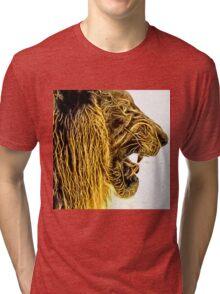 Wild nature - lion Tri-blend T-Shirt