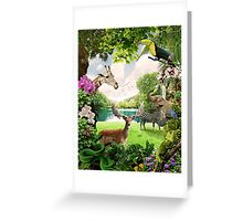 """The Lost Paradise"" Greeting Card"