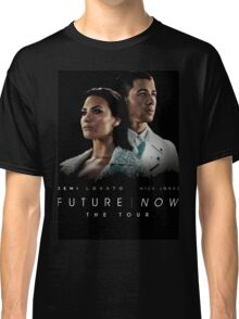 Future Now The Tour Demi Lovato Nick Jonas Gunahad02 Classic T-Shirt