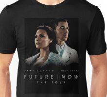Future Now The Tour Demi Lovato Nick Jonas Gunahad02 Unisex T-Shirt