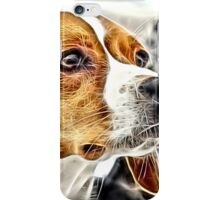Wild nature - dog #4 iPhone Case/Skin