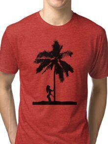 palm woman Tri-blend T-Shirt