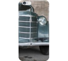 retro car front view iPhone Case/Skin