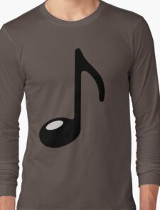 black note Long Sleeve T-Shirt