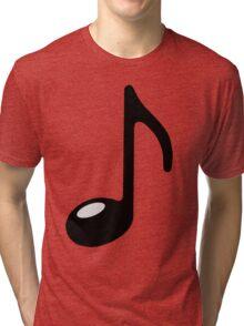 black note Tri-blend T-Shirt