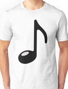 black note Unisex T-Shirt