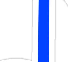 blue note Sticker