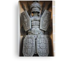 warrior antique military armor Canvas Print