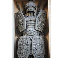 warrior antique military armor Photographic Print