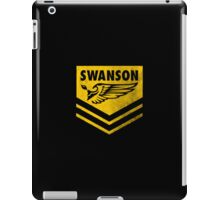 The Swanson Hardcore Outdoor Club iPad Case/Skin