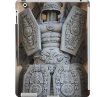 warrior antique military armor iPad Case/Skin