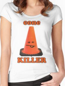 Cone killer  Women's Fitted Scoop T-Shirt