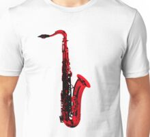 red saxophone Unisex T-Shirt