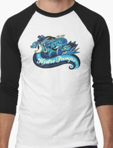 Water Types - Hydro Pumps Men's Baseball ¾ T-Shirt