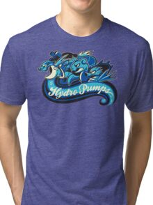 Water Types - Hydro Pumps Tri-blend T-Shirt