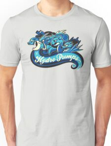 Water Types - Hydro Pumps Unisex T-Shirt