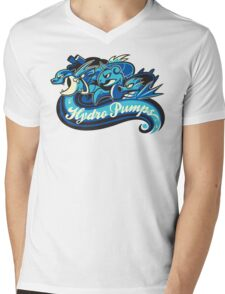 Water Types - Hydro Pumps Mens V-Neck T-Shirt