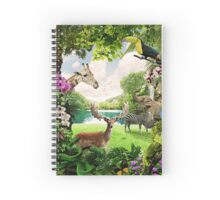 """The Lost Paradise"" Spiral Notebook"