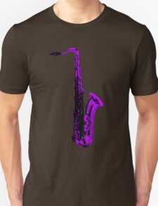 purple saxophone T-Shirt