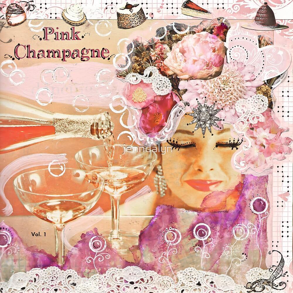 Pink Champagne by jenndalyn