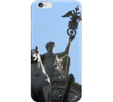 Nike on the triumphal chariot iPhone Case/Skin