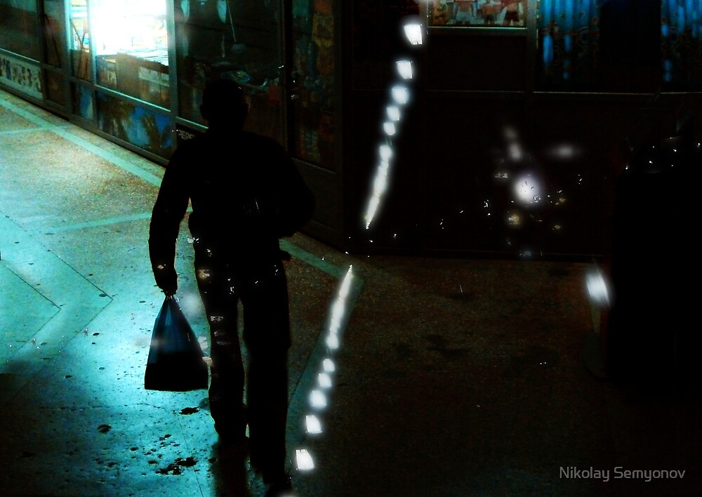 rostov. twilight. two by Nikolay Semyonov