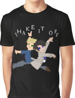 Supernatural Parody - Shake it off Graphic T-Shirt