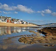 Low Tide ~ Lyme Regis by Susie Peek