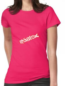 Roblox logo - Unofficial Merchandise Womens Fitted T-Shirt