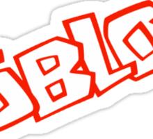 Roblox logo - Unofficial Merchandise Sticker
